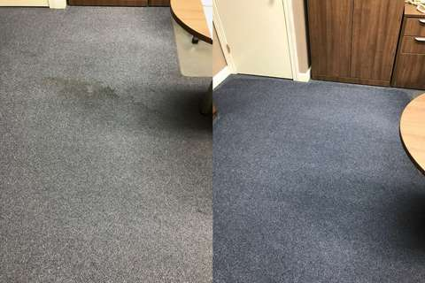 Carpet Cleaning Service before and after